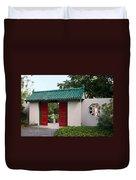 Chinese Scholar's Garden Duvet Cover