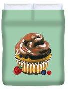 Chocolate Glaze Duvet Cover