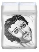 Cholera Victim, 1831 Duvet Cover