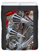 Chopper Engine-2 Duvet Cover
