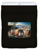 Christ Appears Duvet Cover