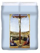 Christ Crucified Duvet Cover