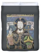 Christ In Majesty Duvet Cover