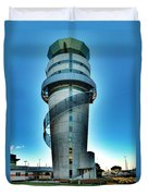 Christchurch Airport's Control Tower Duvet Cover