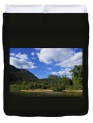 Christina Lake - North End Of The Lake Duvet Cover
