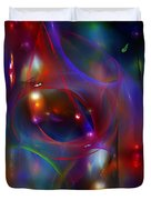 Christmas Abstract 112711 Duvet Cover