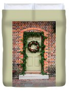 Christmas Door Duvet Cover