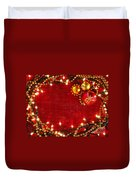 Christmas Frame Duvet Cover