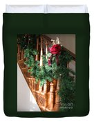 Christmas Garland Duvet Cover