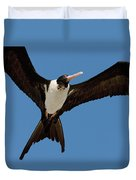 Christmas Island Frigatebird Fregata Duvet Cover