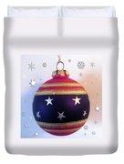 Christmas Ornament Duvet Cover