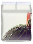 Christmas Past Duvet Cover
