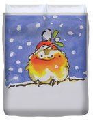 Christmas Robin Duvet Cover