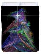 Christmas Tree 49b Star Duvet Cover