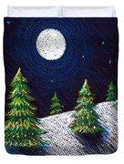 Christmas Trees II Duvet Cover