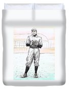 Christy Mathewson Duvet Cover