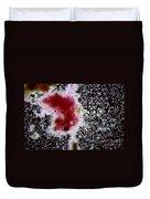 Chromatium Sp. Bacteria Duvet Cover