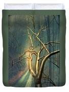Chrome Forest Duvet Cover