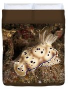Chromodoris Kunei Nudibranch Carrying Duvet Cover