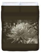 Chrysanthemum In Bloom Duvet Cover