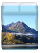 Chugach Mountains Duvet Cover