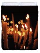 Church Candles Duvet Cover