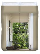 Church Entrance Duvet Cover