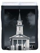 Church In Eureka Duvet Cover
