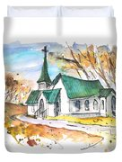 Church In Friars Point Mississippi Duvet Cover