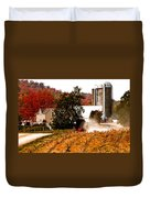 Church Is Over Heading Home Duvet Cover