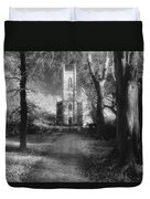 Church Of St Mary Magdalene Duvet Cover by Simon Marsden