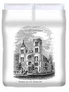 Church Of The Puritans Duvet Cover