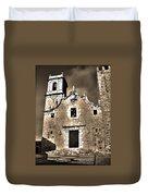 Church Of The Virgen De La Ermitana - Peniscola  Duvet Cover