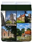 Churches Of Hillingdon Duvet Cover