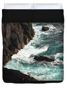 Churning Ocean Duvet Cover