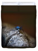 Cicindellidae Face To Face Duvet Cover