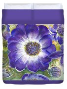 Cineraria Of South Africa  Duvet Cover