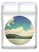 Circle Lake Duvet Cover