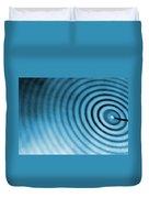 Circular Ripples Duvet Cover