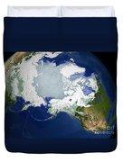 Circum-arctic Permafrost Duvet Cover