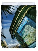 City By The Bay Duvet Cover