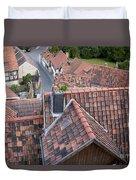 City Roofs Duvet Cover