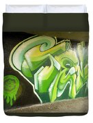 City Sponsored And Approved Graffiti Duvet Cover
