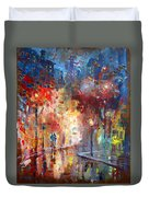 City Street Duvet Cover