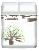 City Tree Duvet Cover