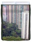 City Versus Nature Duvet Cover