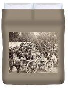 Civil War: Artillery, 1862 Duvet Cover