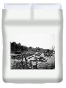 Civil War: Artillery Duvet Cover