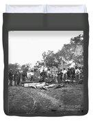 Civil War Burial, 1864 Duvet Cover