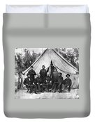 Civil War: Chaplains, 1864 Duvet Cover